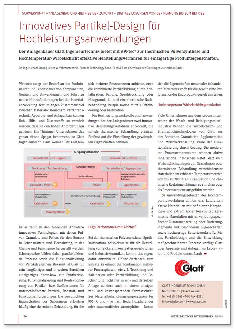 Innovatives Partikel-Design für Hochleistungsanwendungen