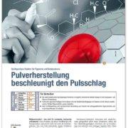 Pulverherstellung beschleunigt den Pulsschlag – Sprühpyrolyse-Reaktor für Pigmente und Katalysatoren