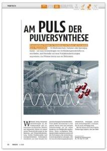 Am Puls der Pulversynthese