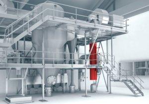 Glatt ProAPP® 500 als Reaktor für Pilot- und Produktionsanlagen