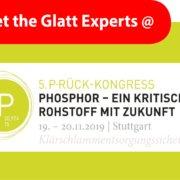 Meet the Glatt PHOS4green Experts @5. Phosphor-Kongress in Stuttgart