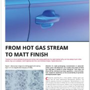 Published technical paper: From Hot Gas Stream to Matt Finish by Glatt Powder Synthesis