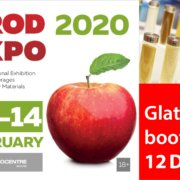 Glatt. Meet the Experts @ booth 12D018, PRODEXPO, 10-14 Feb 2020 in Moscow, Russia