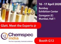Glatt. Meet the Experts @ booth G12, Chemspec India, 16-17 April 2020 in Mumbai, India