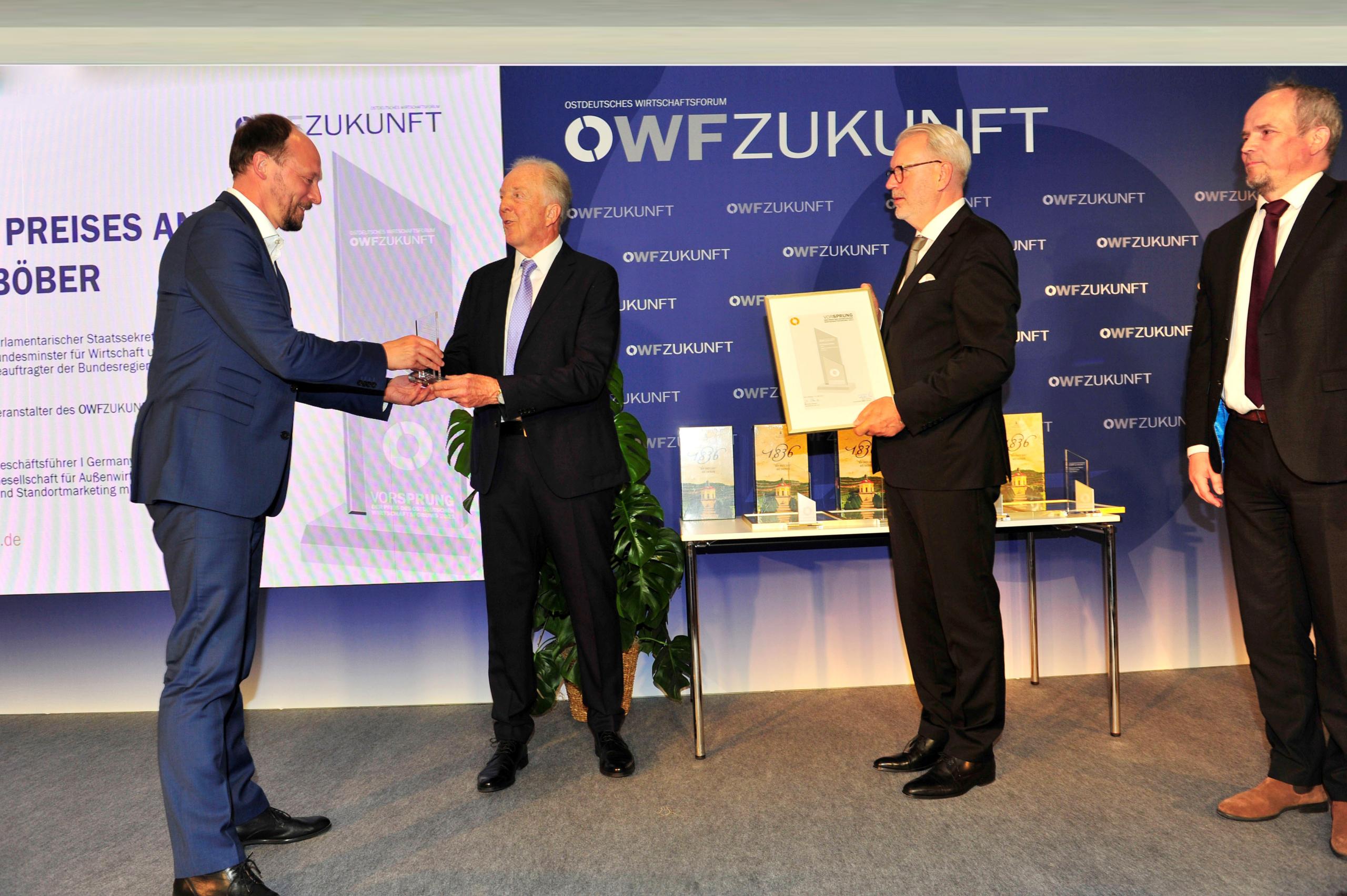 Glatt Ingenieurtechnik honored as an outstanding company with the East German Business Forum Award_2021-06-14