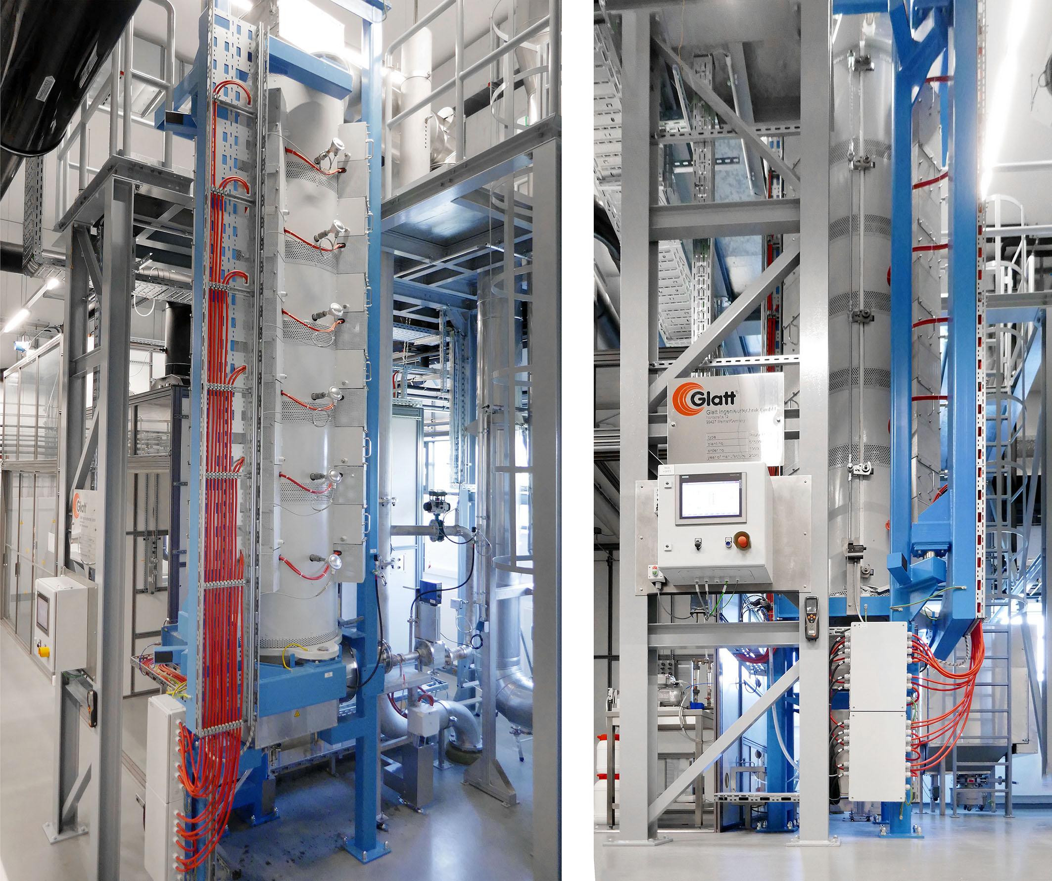 Synthesereaktor Glatt ProAPP® für das Fraunhofer-Institut für Keramische Technologien und Systeme IKTS, Hermsdorf, Deutschland